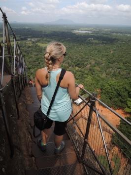 Climbing Lion Rock, Sigiriya