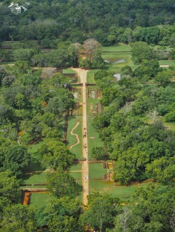 View from top of Sigiriya