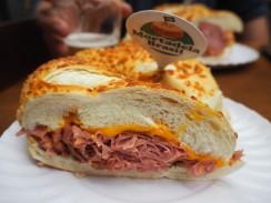 Brazuka--apparantly a famous sandwich