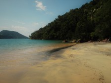 Paraty Mirim beach