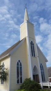 The church in Avonlea village