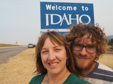 We crossed into Idaho.