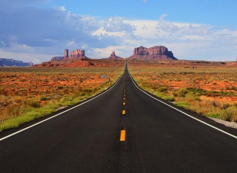 Monument Valley, border of Utah and Arizona