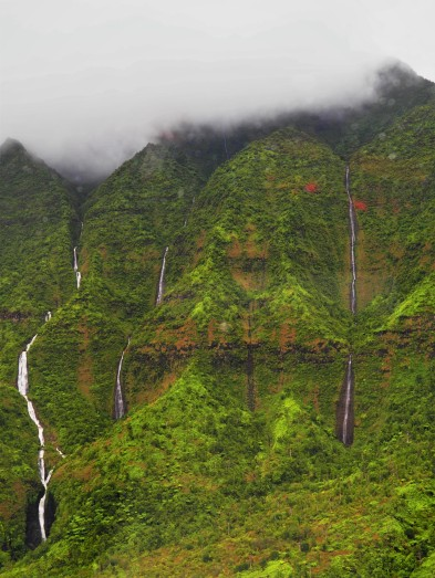 """supposed wettest place on earth """"Wall of Tears"""""""