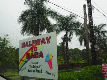 Had some REALLY good banana bread at this stop, which is a favourite treat in Maui