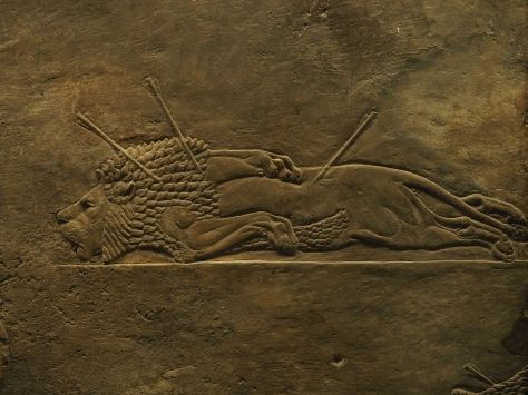 Lion Hunt from ancient Nineveh