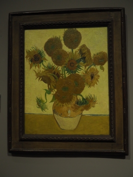 The National Gallery (one of 5 sunflowers paintings Van Gogh did)