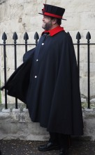 a real live beefeater (yeomen) who was our tour guide