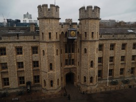Where they keep the crown jewels...not allowed to photograph, sadly