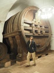 One of the big barrels