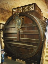 the properly big barrel--as big as a house!