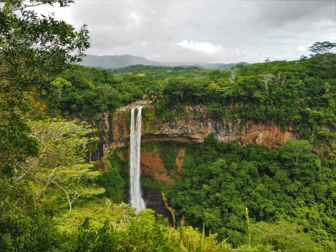 Chameral waterfall