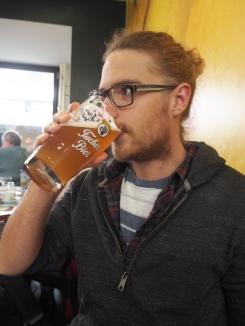 Christmas Day beer