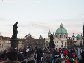 Charles Bridge in the afternoon